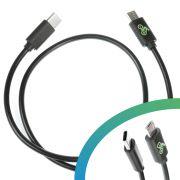 E-bike USB charging cable Micro USB-B to USB C