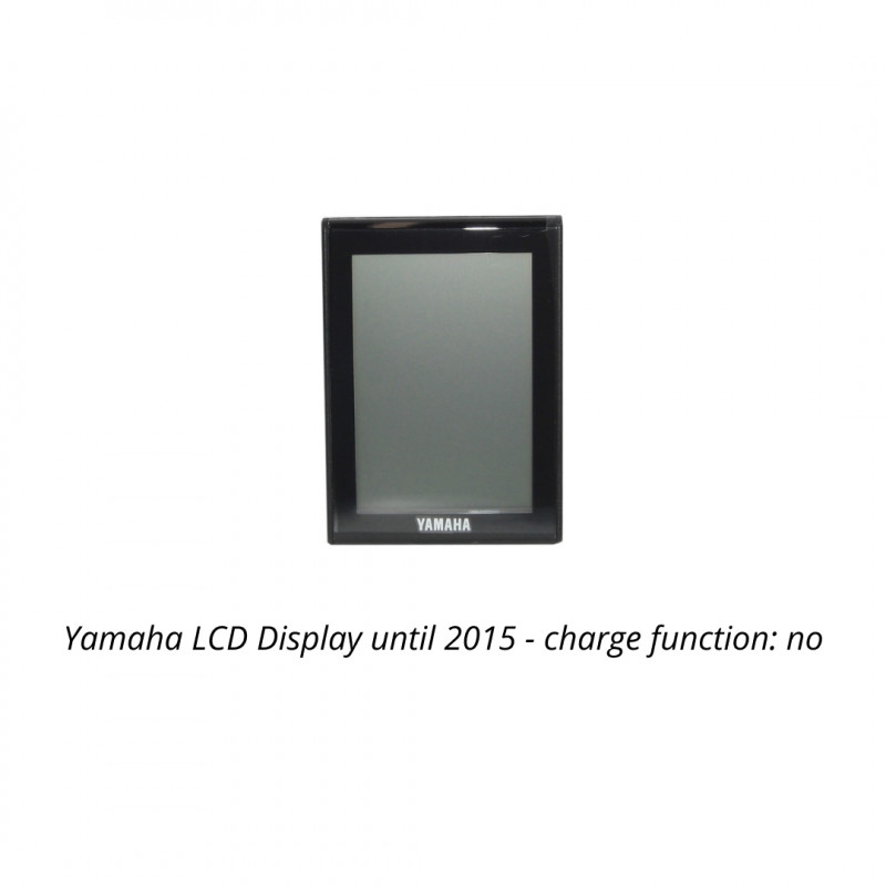 Yamaha LCD Display until 2015