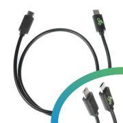 E-bike USB charging cable Micro A - Micro B
